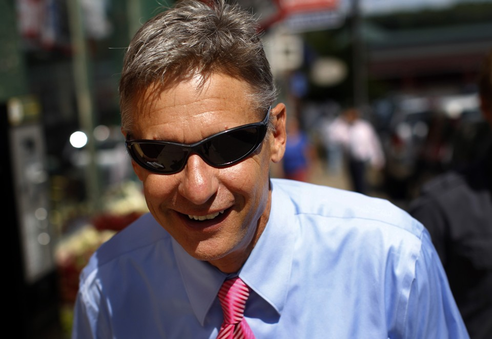 How Gary Johnson Could Win the Presidency